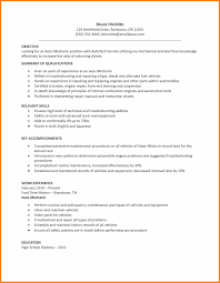 7+ Automotive Technician Resume Example 2015 | Richard Wood Sop