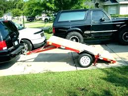 Pickup Trailer Ramps Harbor Freight Truck For Lawn Mowers Loading ...