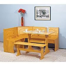 essential home emily breakfast nook pine 4 breakfast nook table