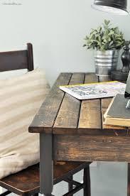 DIY Farmhouse Writing Desk Featuring Cherished Bliss
