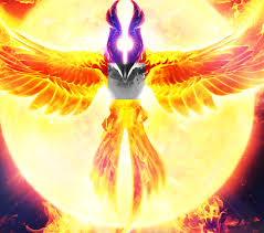 phoenix has a face on its chest dota2