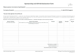 Sponsorship Agreement Form Emailers Co