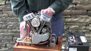scale running model harley panhead engine by ron colonna youtube