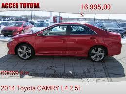 Used Toyota Camry For Sale Sudbury, ON - CarGurus