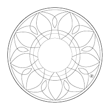 Get free high quality hd wallpapers simple heart mandala coloring pages
