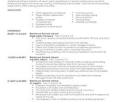Warehouse Associate Job Description Manufacturing Associate Resume ...