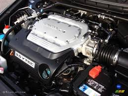 2008 Honda Accord EX-L V6 Coupe 3.5L SOHC 24V i-VTEC V6 Engine ...