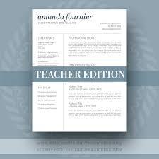 Teacher Resume Template The Amanda Teacher Resume Template