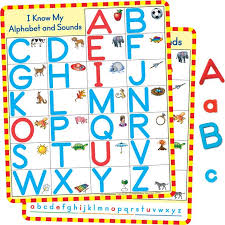 Letters And Sounds Chart Magnetic Alphabet Charts And Letters Kit