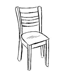 chair clipart black and white. Plain And Adirondack Chairs Clipart Outline Chair Free Beach Chair Illustrations And  Vector Black White In Black And White R