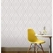 Arthouse Wallpaper New York Geo Grey ...