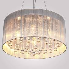 awesome large drum shade pendant lighting