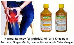 fluid on the knee pain relief