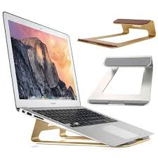 Macbook Pro Display Stand Simple Aluminum Laptop Stand Desk Dock Holder For Apple MacBook AirMacBook