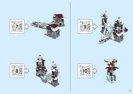 LEGO 70678 Castle of the Forsaken Emperor Instructions, Ninjago