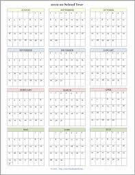 Academic Calendar 2020 17 Template Free Printable Bill Calendar 2020 Example Calendar Printable