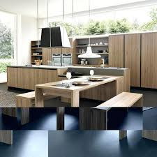 modern kitchen island with seating. Kitchen Island Table Combo Medium Size Of With Attached In  Fantastic . Modern Seating