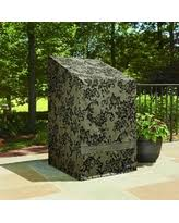 sure fit patio furniture covers. Perfect Fit Patio Armor Stack Of Chairs Cover With PU Coating Damask Print Black Sure  Fit  On Furniture Covers A