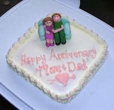 42nd Anniversary Cake Cakecentralcom