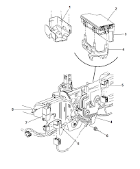 2008 jeep patriot relays totally integrated power module mounting