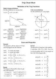 Sin Cos Tan Chart Pdf 31 Correct Sin Cos Circle Chart