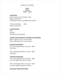 Resume Cv Pdf Curriculum Vitae Samples Template 2016 All Best Cv