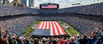 Carolina Panthers Seating Chart With Rows Bank Of America Stadium Seating Chart Seatgeek