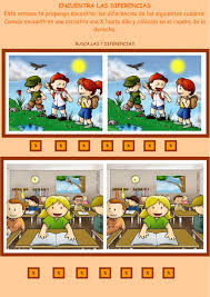 Cursos de matematicas , matematicas para preescolar. Diferencias Ficha Interactiva Actividades Interactivas Seguimiento De Instrucciones Actividades