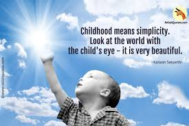 Beautiful Childhood Quotes