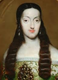 madame isis toilette a beautiful visage th century female beauty detail from a painting of marie louise of orleans queen of spain by jose garcia hidalgo ca 1682