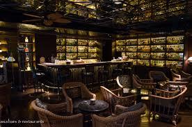 bamboo bar .
