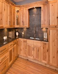 carolina hickory kitchen cabinets