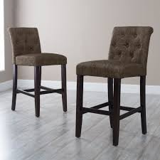 Cool Counter Stools Morgana Tufted Counter Stool Hayneedle