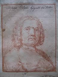 Già attr. a Domenico Maria Fratta, Ritratto di Stefano Orlandi, matita rossa, - StefanoOrlandi_1