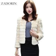 autumn new fashion women faux fur jacket elegant faux rabbit fur coat short slim outerwear fur gilet fourrure abrigo de pelo q171137 high quality coat black