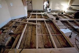 Holzbalkendecken richtig sanieren mit speziellen trockenestrich platten. Holz Beton Verbund Bei Der Deckensanierung Belastbare Beziehung