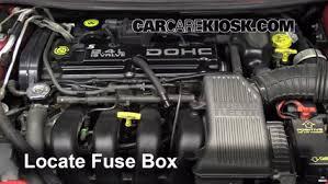 replace a fuse 1995 2000 dodge stratus 1996 dodge stratus es Dodge Stratus Fuse Box replace a fuse 1995 2000 dodge stratus 1996 dodge stratus es 2 4l 4 cyl dodge stratus fuse box diagram