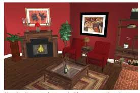 use the brown undertones gold orange red red orange magenta and brown to conceal wood tones because wood tones blend into brown undertones brown furniture wall color