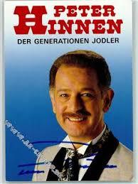 <b>Peter Hinnen</b> Volksmusik Original Autogramm. Zum Vergrößern und weitere Fotos <b>...</b> - AK_12087901_kl_1