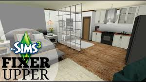 The Sims  Fixer Upper Apartment Renovation Tumblr Studio - Studio apartment tumblr