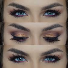 copper makeup tutorial 10 steps