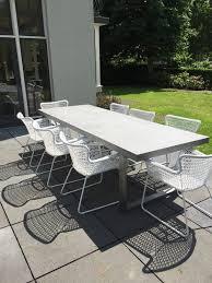 modern metal outdoor furniture photo. Furniture Modern Concrete Patio Wonderful Inside Metal Outdoor Photo