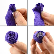Flower Making With Crepe Paper Step By Step Crepe Paper Flower Making Tutorial Rome Fontanacountryinn Com