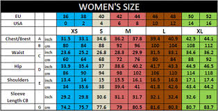 Blouse Size Chart 9 Things To Note When Youre Shopping Blouses Online