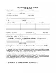 Basic Rental Agreement Fillable : Blank Rental Lease Example. Blank ...
