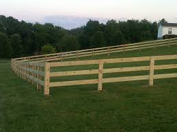 Wood Fence Designs For Horses