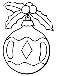Christmas ornament. More coloring pages ...