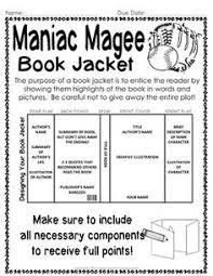 maniac magee activities and tasks great books for th graders  maniac magee activities and tasks great books for 5th graders activities language arts and school