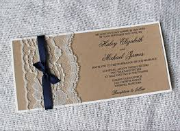 burlap lace wedding invitations awesome 2018 rustic wedding invitation set country wedding kraft paper invitation cards