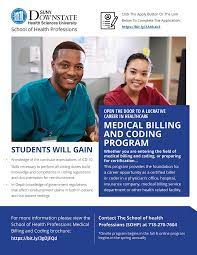These two separate processes work hand in hand. School Of Health Professions Medical Billing And Coding